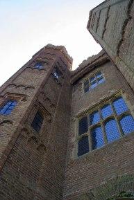 Superb late medieval/Tudor brickwork. Oxburgh Hall gatehouse