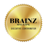 As seen and featured Agnese Rudzate Brainz Magazin logo