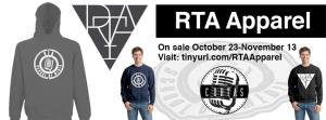 RTA Apparel Facebook Cover Photo