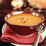 Curried Carrot Soup with Roasted Almonds