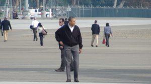 President Barack Obama in Fresno AgNet West photo