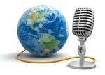 brodacasting microphone
