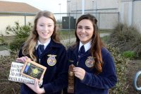"Atwater FFA member Amanda Skidmore and Makala Navarro earned ""Top 10"" finishes in the FFA Job Interview contest where students demonstrate all facets of job application and interview skills."