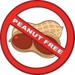 Stop Peanuts Sign