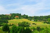 Rural landscape in France