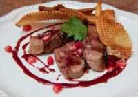 Duck Breast with Pomegranate