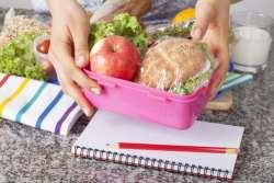 Healthy farm to school lunch