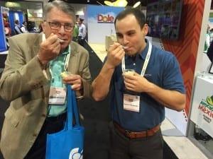 Avocado ice cream at PMA Fresh Summit