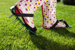lawn revitalizing aerating shoes