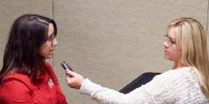Samantha Castro talks about farm bureau convention