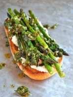 Grilled Chimi Churi Asparagus Tips