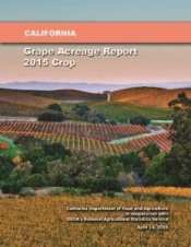 California Grape Acreage Report