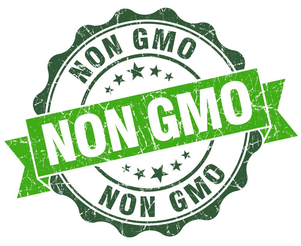 non gmo green vintage seal