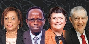 2016 World Food Prize Laureates Andrade, Mwanga, Low and Bouis
