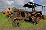 Hart Parr tractor-advancement of farming