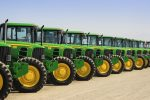 rejected john-deere-tractors-lined-up-at-a-california-agricultural-auction