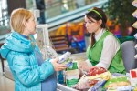 shopping-in-the-supermarket-checkout food prices