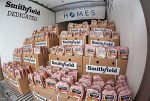 smithfield food disaster donation