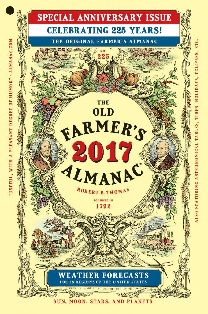 2017-Farmer's Almanac