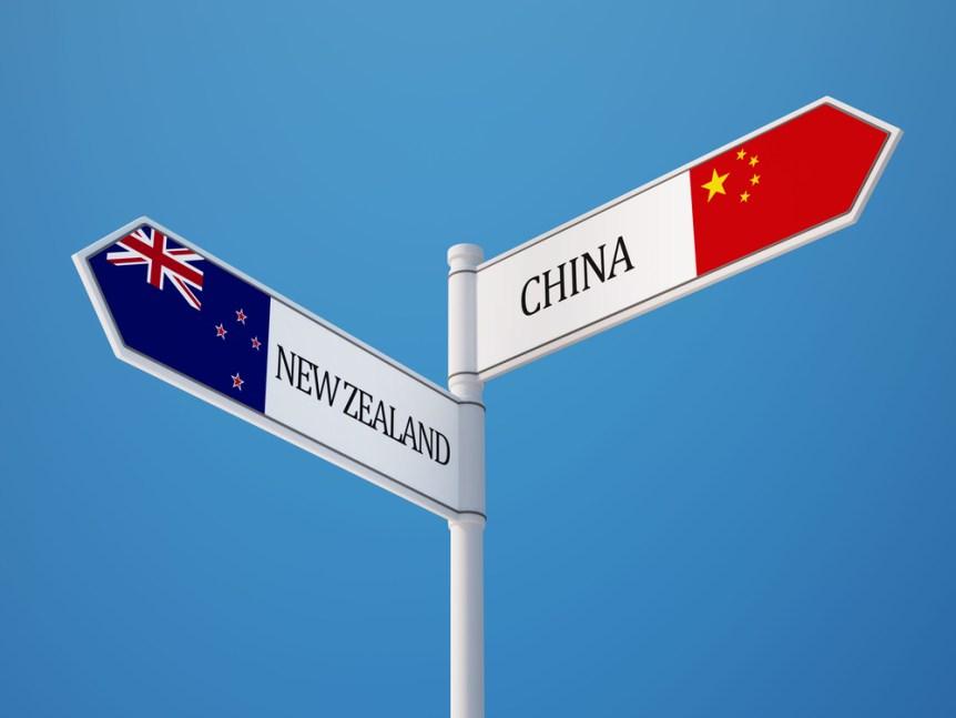 China New Zealand trade talks