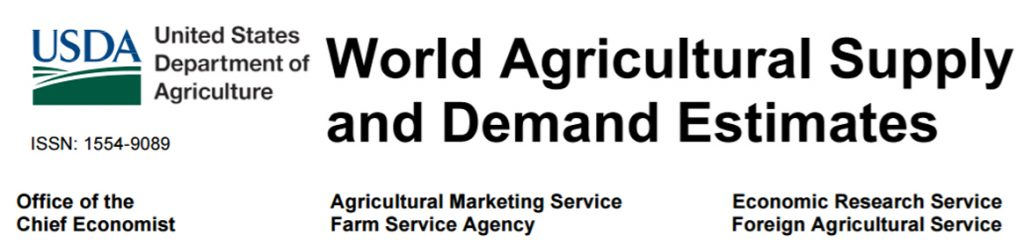 Latest WASDE Report from USDA