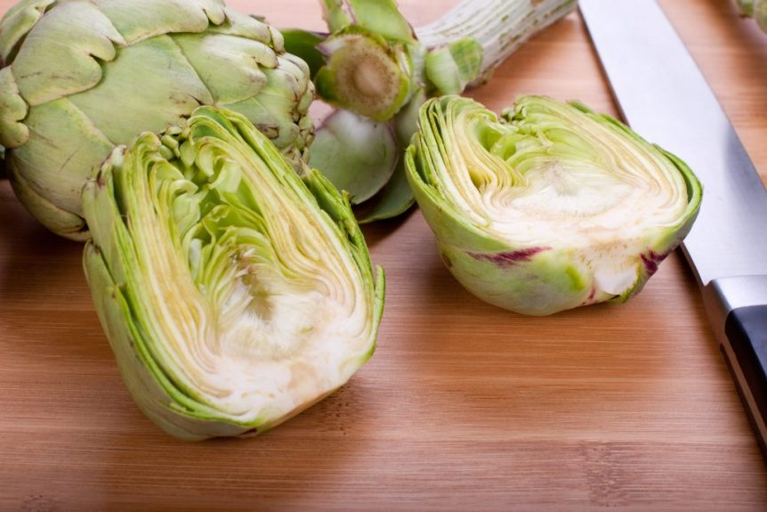 celebrating artichoke hearts