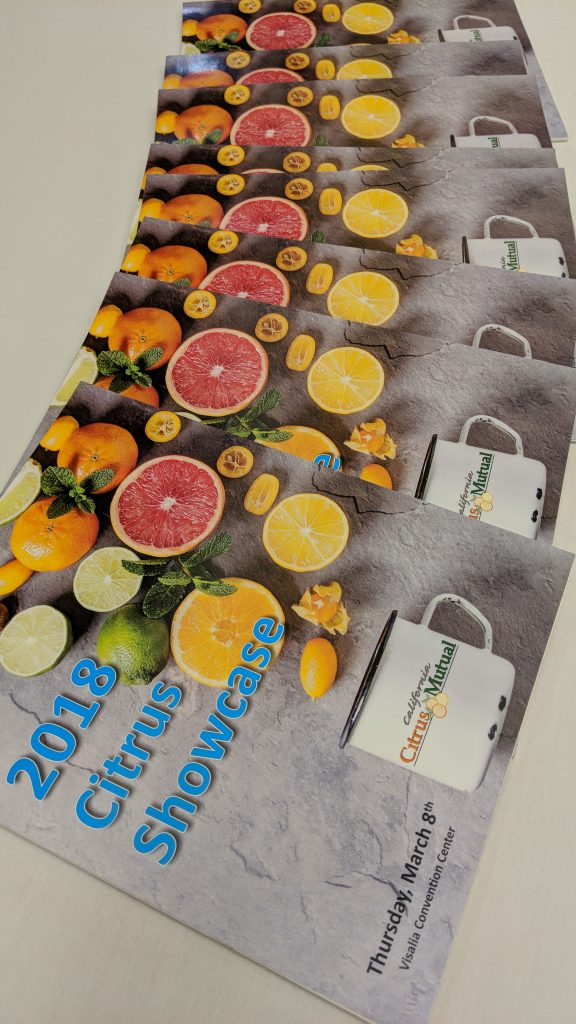 Citrus Showcase Addresses Several Industry Concerns