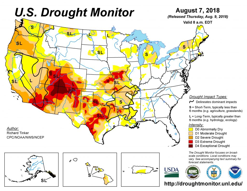 Weekly Drought Monitor Update