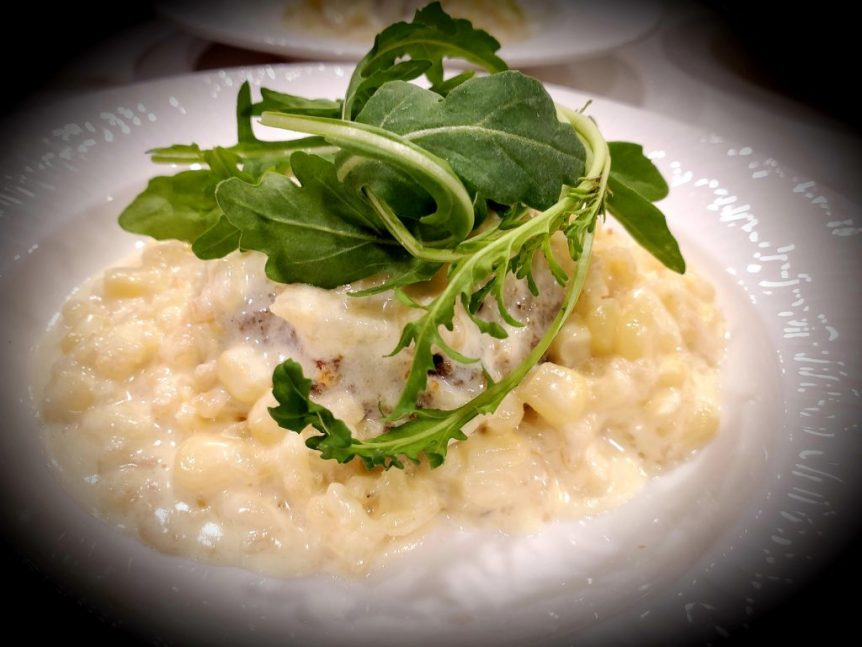 Roasted Corn Risotto