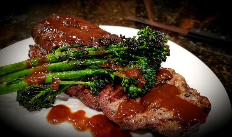 Hibachi Grilled Valentines Steak Dinner