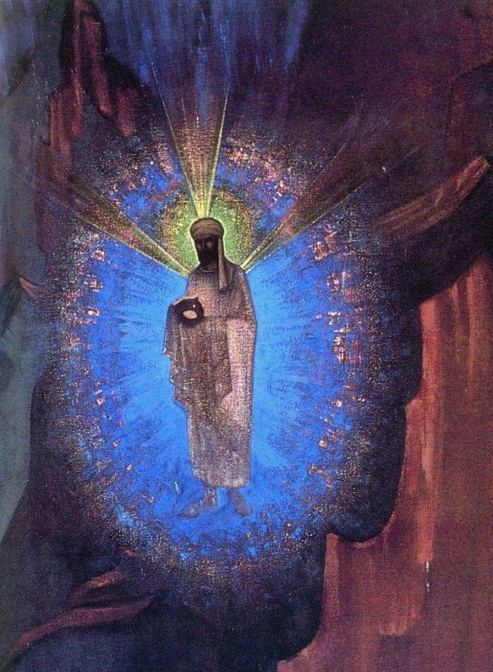 самая лучшая защита от нападений тьмы на плане незримом – Лик Владыки в сердце, мысленное пребывание в Его Луче.