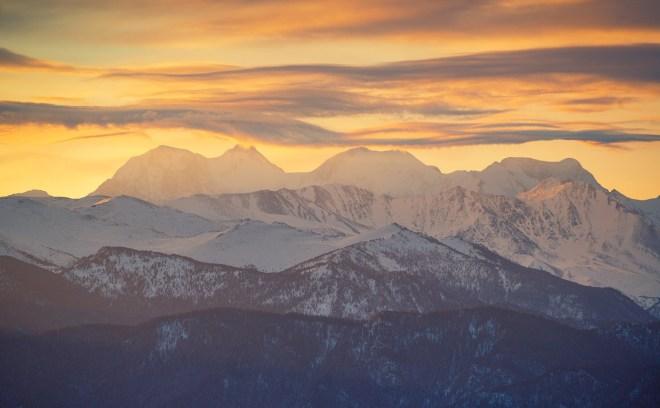 Beluha Sunset