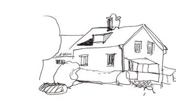 house-line-sketch