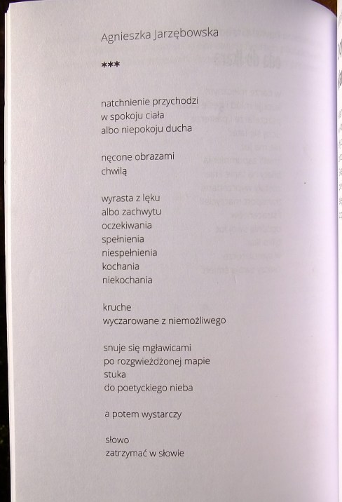 Almanach wiersz