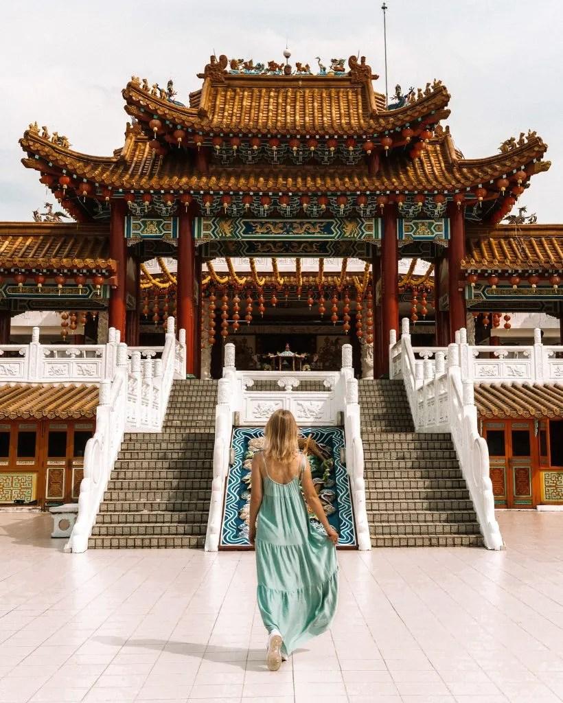 Thean Hou Temple, Buddhist temple in Kuala Lumpur, Malaysia