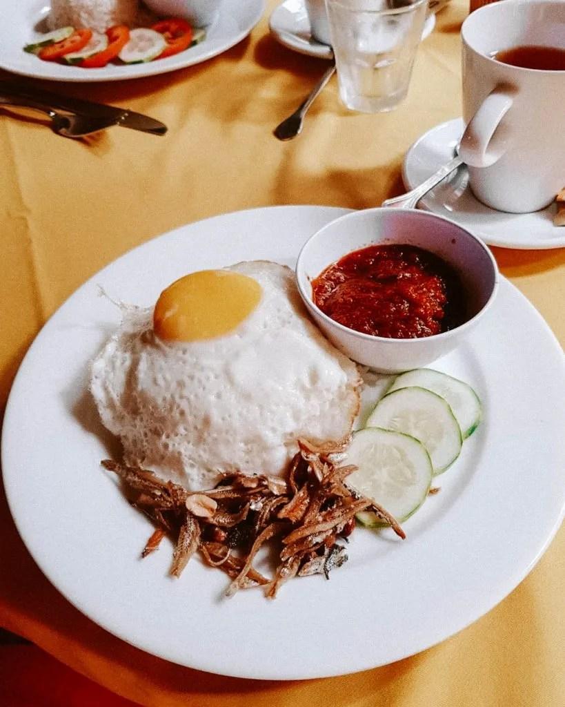 Nasi Lemak, traditional Malaysian food