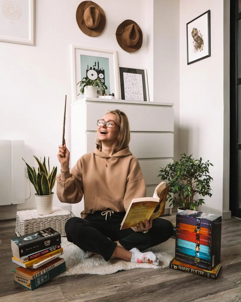 Things to do at home - reading