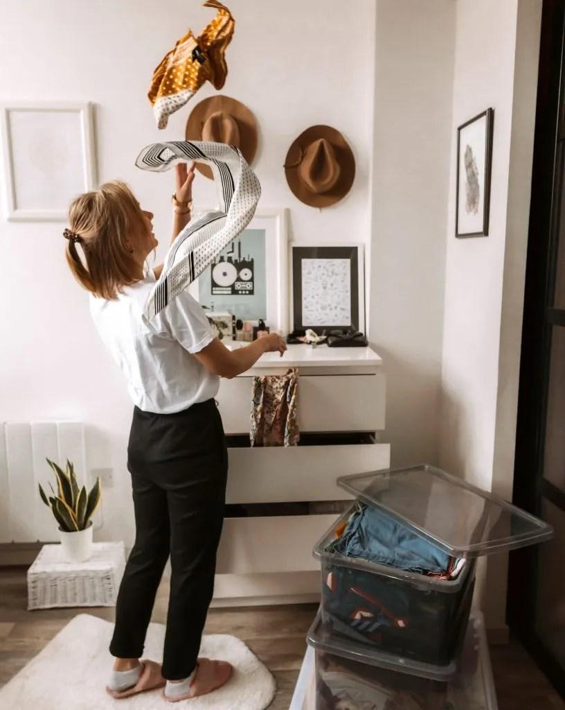 Things to do at home - wardrobe