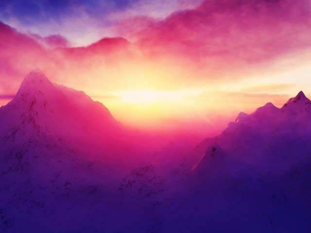 mountain-sunrise