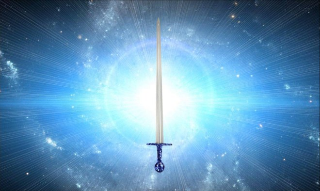 огненный меч над головой агни йога живая этика