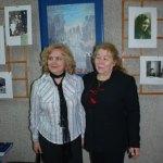Вера Александровна Бронникова (слева) - ученица М.Ф.Дроздовой-Черноволенко