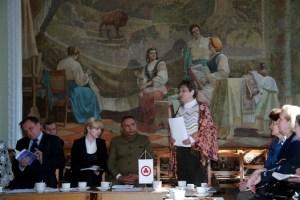 Вступительное слово Председателя Отделения МЦР Нэллы Павловны Германовой