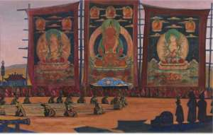 Н.К. Рерих «Монгольский Цам»