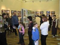 Закрытие выставки ''Зов красоты'' в Твери