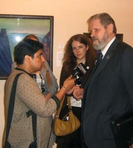 Президент МОО «Международного Центра Рерихов» А.В. Постников