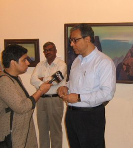 екретарь министерства культуры Республики Индия г-н Джавхар Сиркар