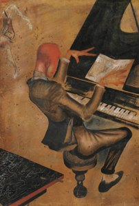 Ю.Пименов. «Пианист». Фото Sotheby's