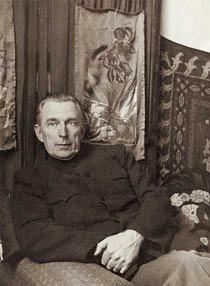 Бывший эмигрант Борис Абрамов, открывший после встречи с Николаем Рерихом в себе дар «получать информацию из Высшего источника»