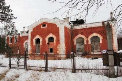 Здание императорской электростанции