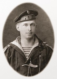 Б. Н. Абрамов — прапорщик по адмиралтейству. 1917 г.